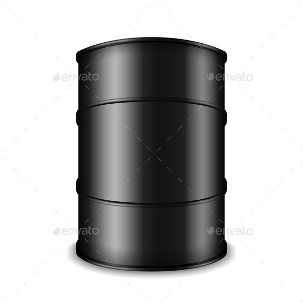 GraphicRiver Black Oil Barrel 10074920