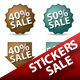 Sale Stickers - GraphicRiver Item for Sale