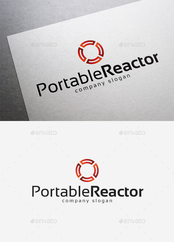 GraphicRiver Portable Reactor Logo 10075330