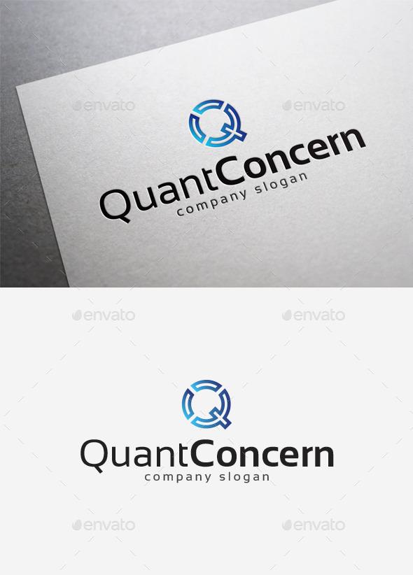 GraphicRiver Quant Concern Logo 10075360
