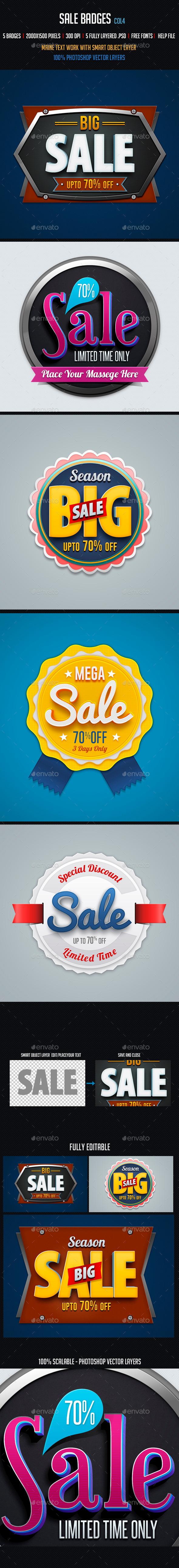 GraphicRiver Sale Badges 4 10075402