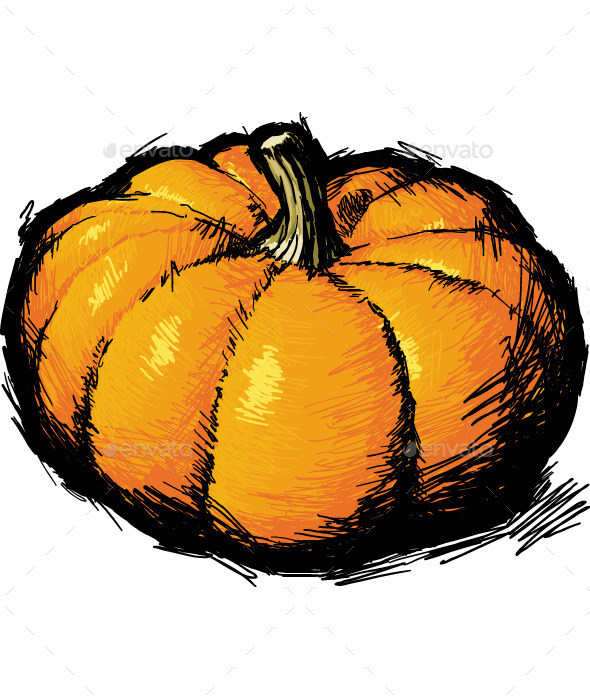 GraphicRiver Ripe Pumpkin 10075465