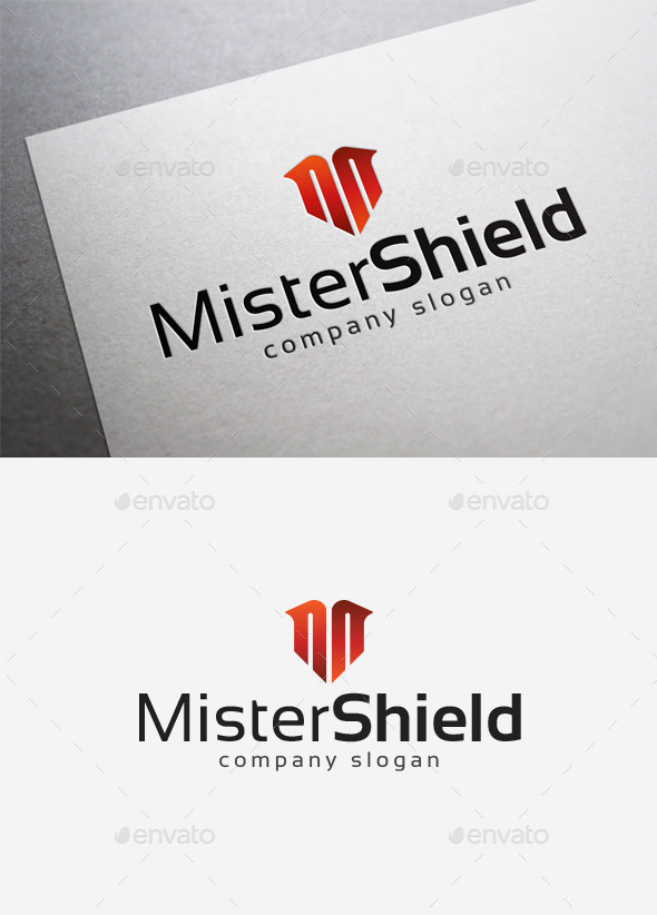 Mister Shield Logo
