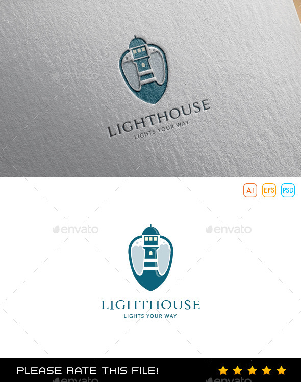 GraphicRiver Lighthouse Logo 10075472