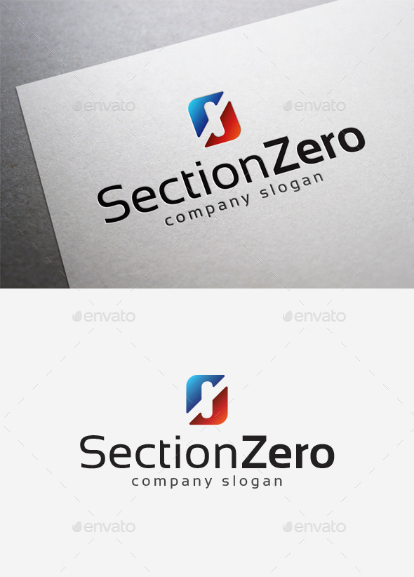 GraphicRiver Section Zero Logo 10075486