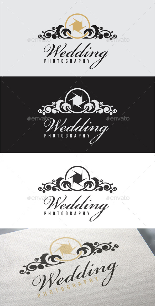 GraphicRiver Wedding Photography Logo Templates 10052443