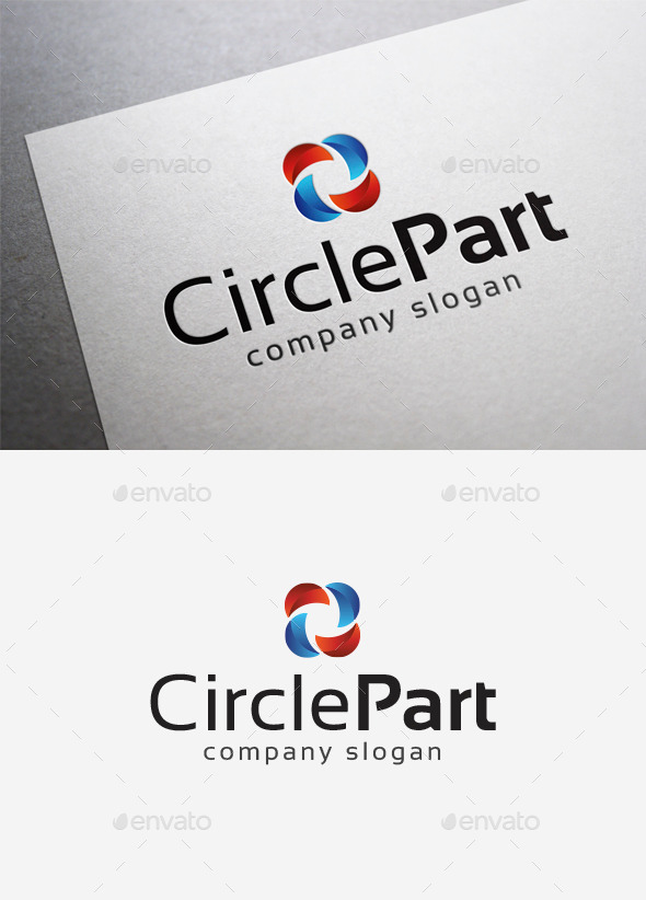GraphicRiver Circle Part Logo 10076254