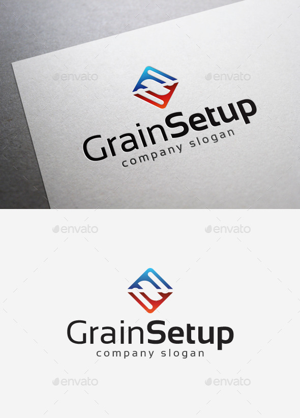 GraphicRiver Grain Setup Logo 10077106