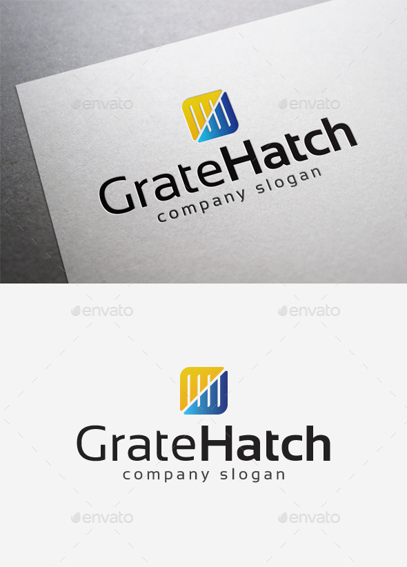 GraphicRiver Grate Hatch Logo 10077804