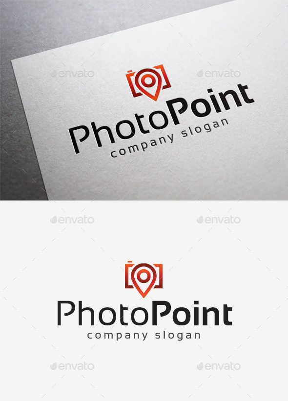 GraphicRiver Photo Point Logo 10078801
