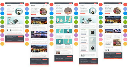 Responsive Email Template 2016