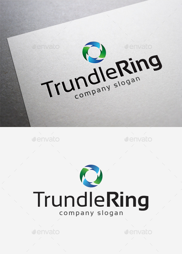 GraphicRiver Trundle Ring Logo 10078830