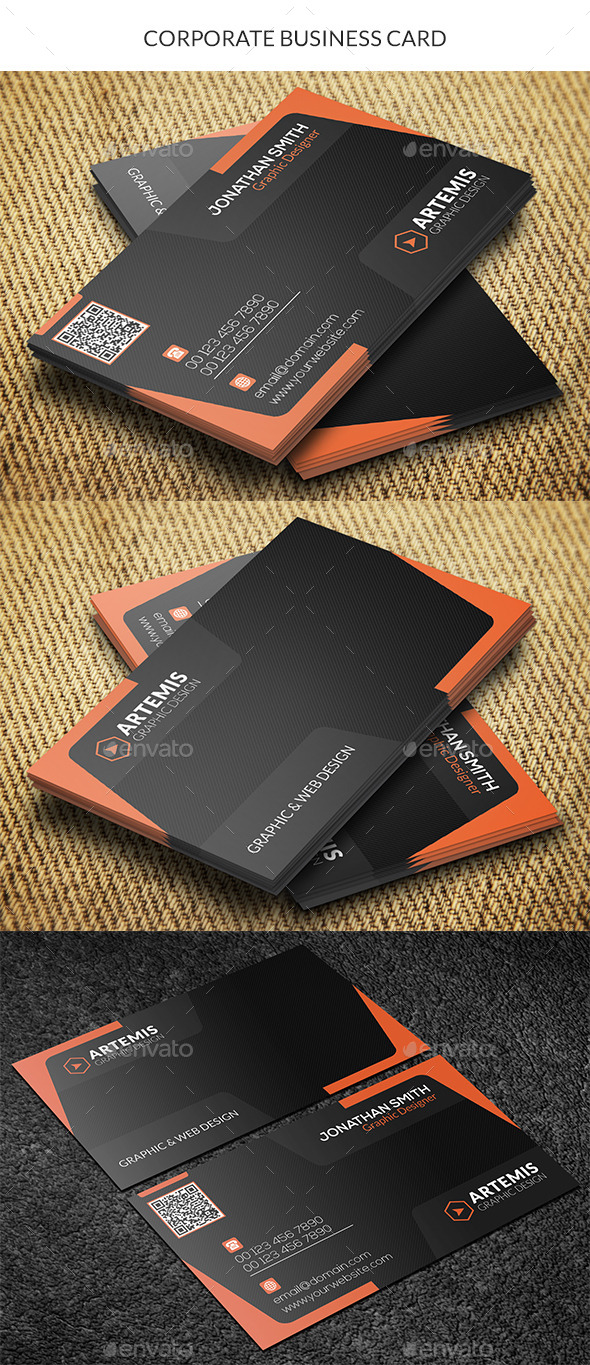 GraphicRiver Corporate Business Card 10079576
