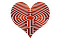 heart looks like maze - PhotoDune Item for Sale