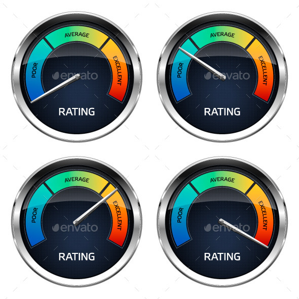 GraphicRiver Realistic Rating Dashboard 10079809