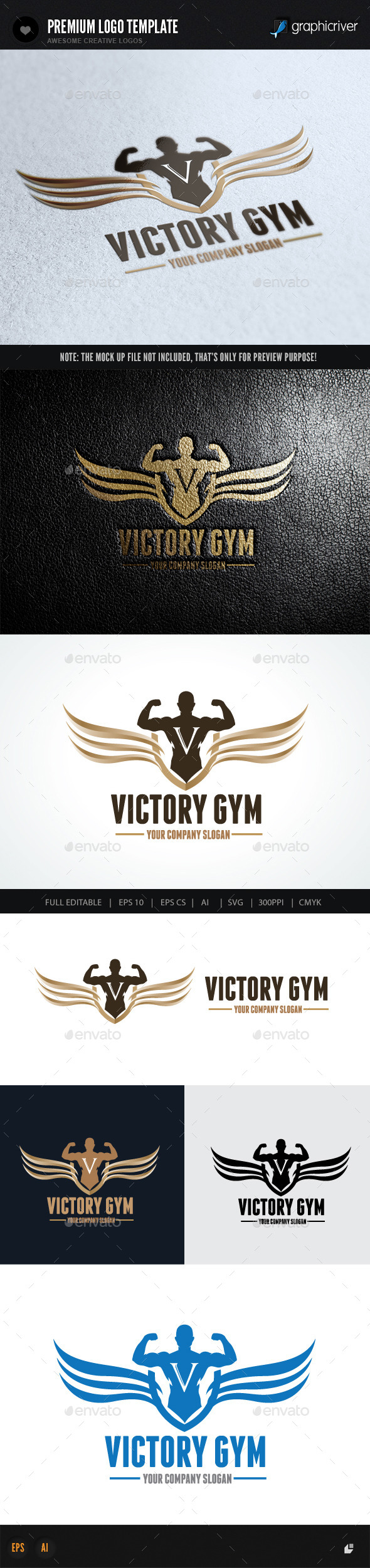GraphicRiver Victory Gym 10079879