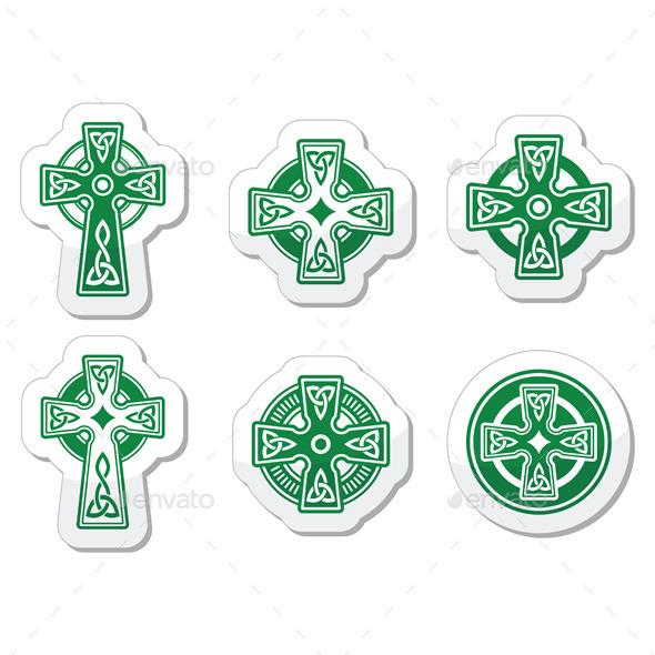 GraphicRiver Celtic Crosses 10079926