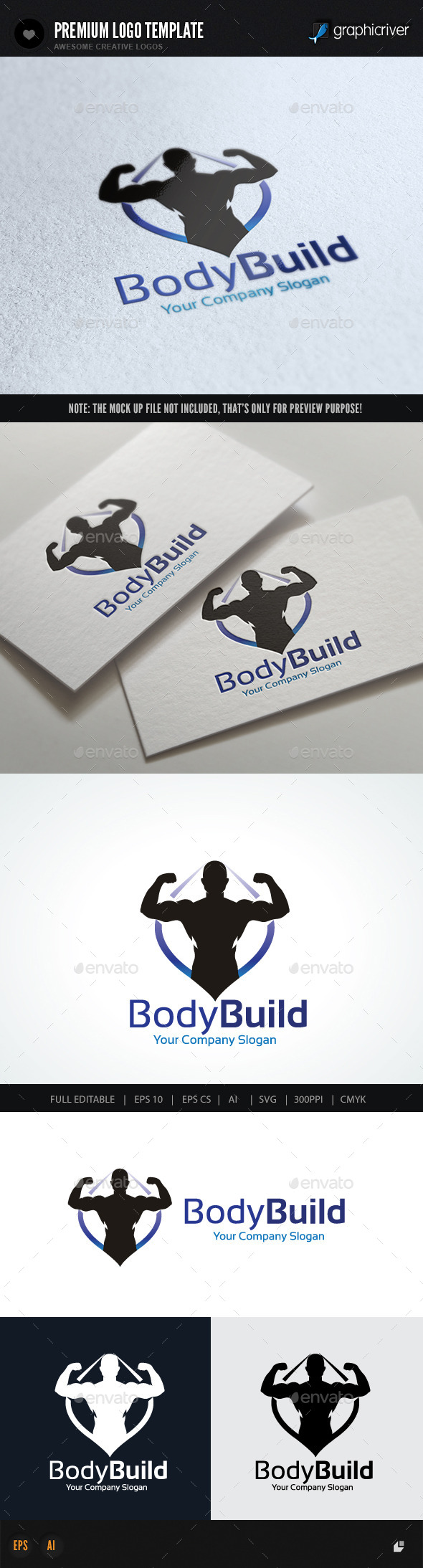 GraphicRiver Body Building 10079927