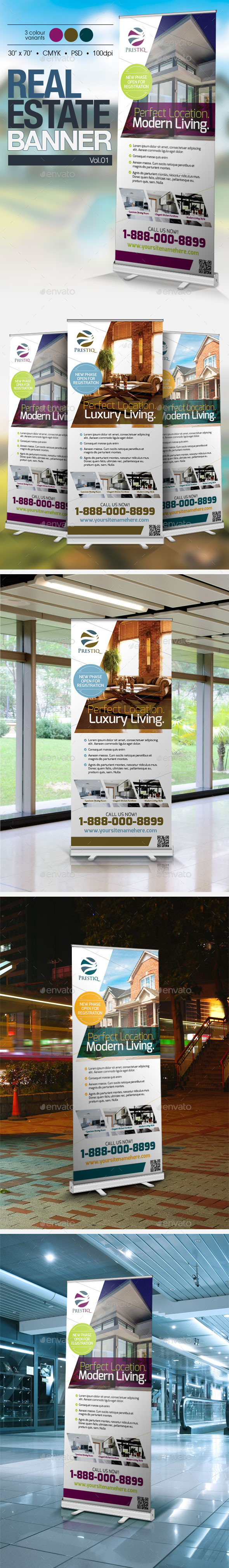 GraphicRiver Real Estate Banner Vol.01 10080079