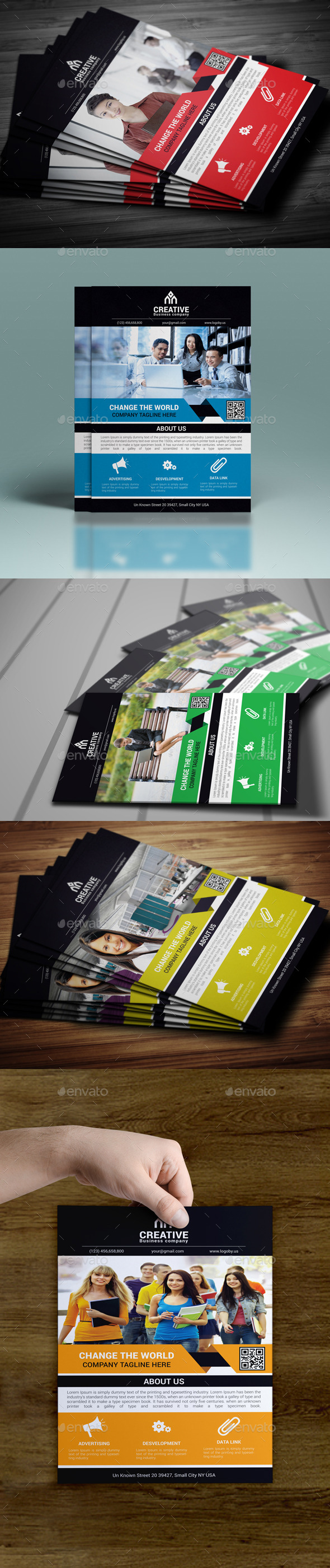 GraphicRiver Corporate Business Flyer 10080285