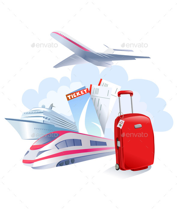 GraphicRiver Travel Icon 10080523