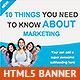 Cool Marketing HTML5 Animated Banner
