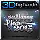 3D Collection Text Effects Big Bundle - GraphicRiver Item for Sale