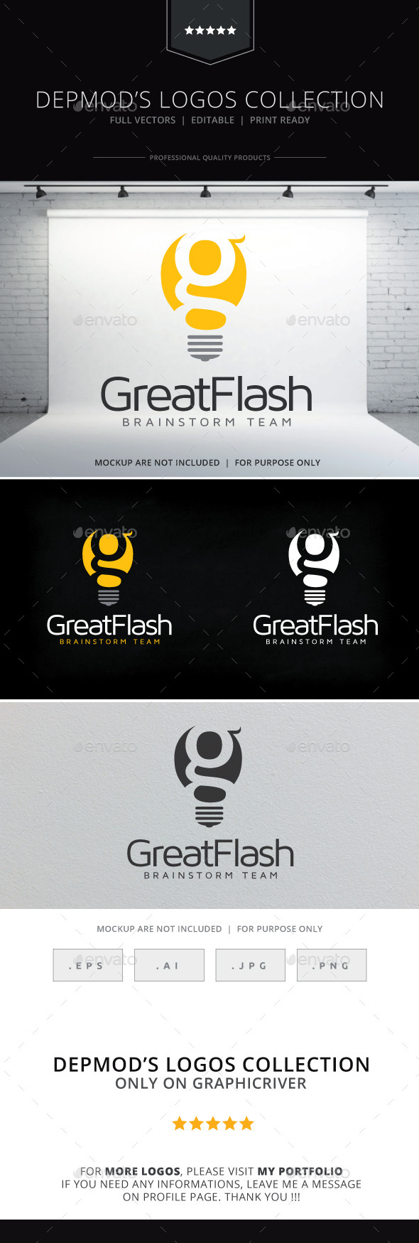 GraphicRiver Great Flash Logo 10083977