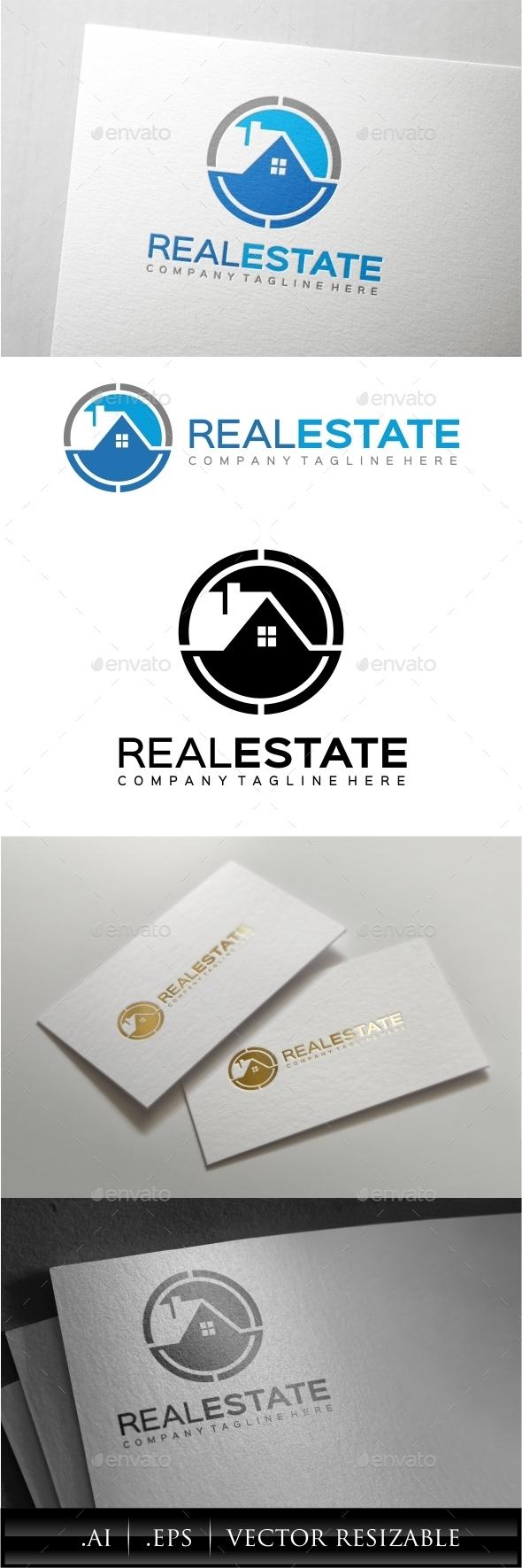 GraphicRiver Real Estate Logo Template 10084762