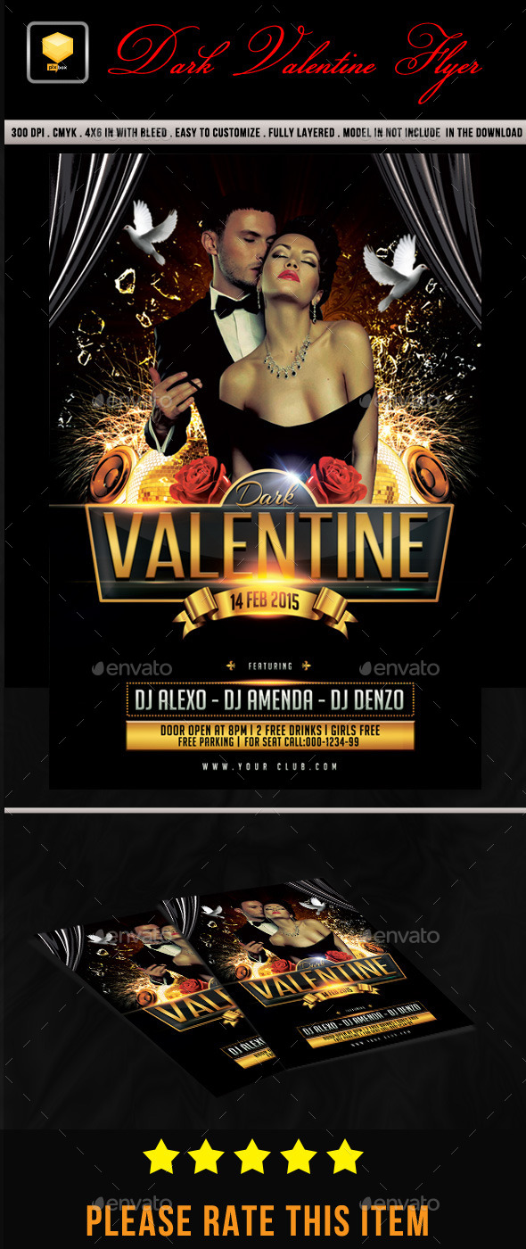 Dark Valentine Flyer