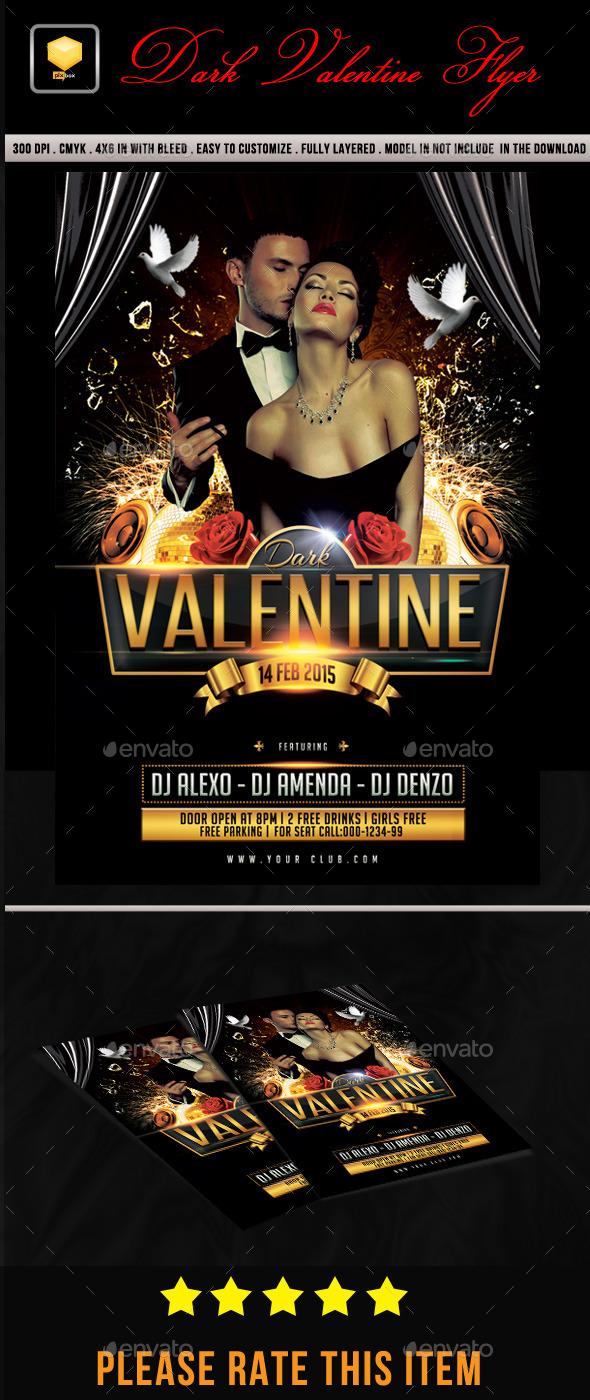 Dark Valentine Flyer