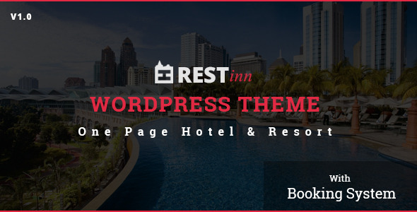 ThemeForest Restinn- A Booking One Page Theme For Resort Hotel 9990721