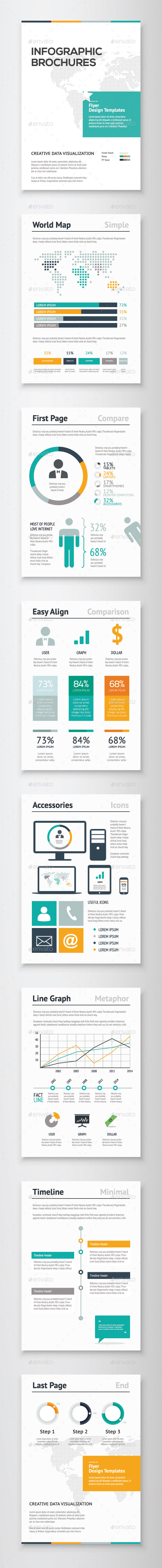 GraphicRiver Infographic Brochure Vector Elements Kit 2 10086249