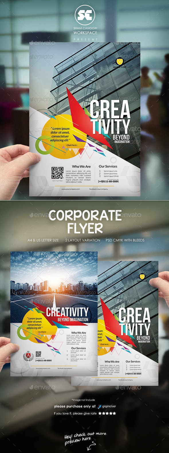 GraphicRiver Creative Corporate Flyer 10086267