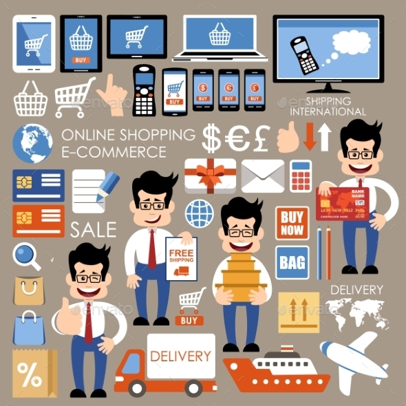 GraphicRiver Internet Shopping 10086420