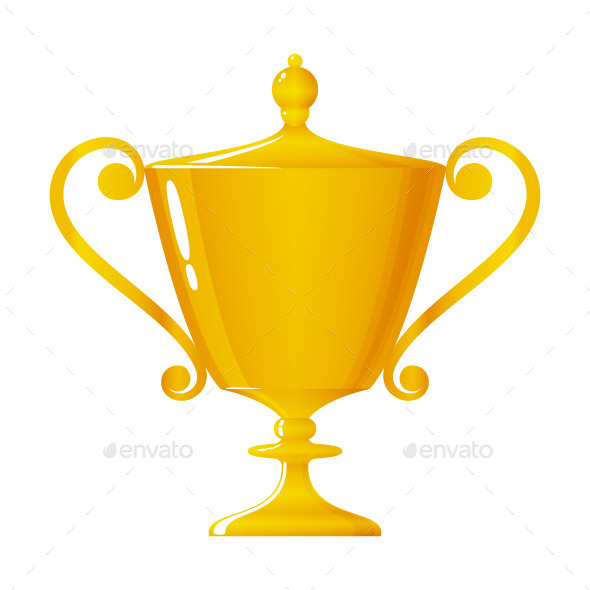 GraphicRiver Gold Trophy 10087172