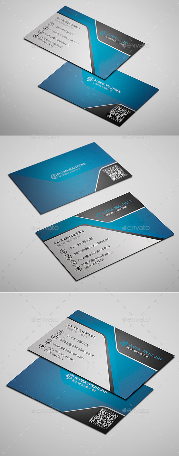 GraphicRiver Corporate Business Card 1 10087387