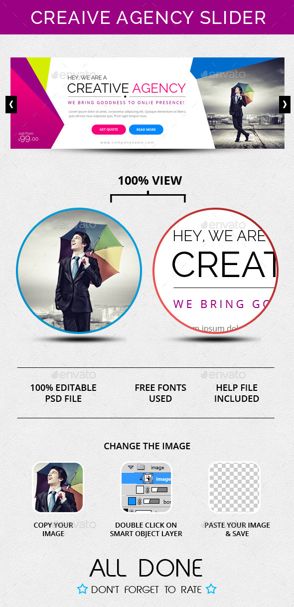 GraphicRiver Creative Agency Slider 10060404