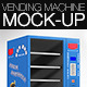 Vending Machine Mock-Up - GraphicRiver Item for Sale
