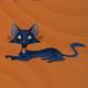 Animated Black Cat - ActiveDen Item for Sale