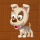 White Puppy Animations - ActiveDen Item for Sale