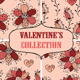 Valentine's Seamless Collection - GraphicRiver Item for Sale