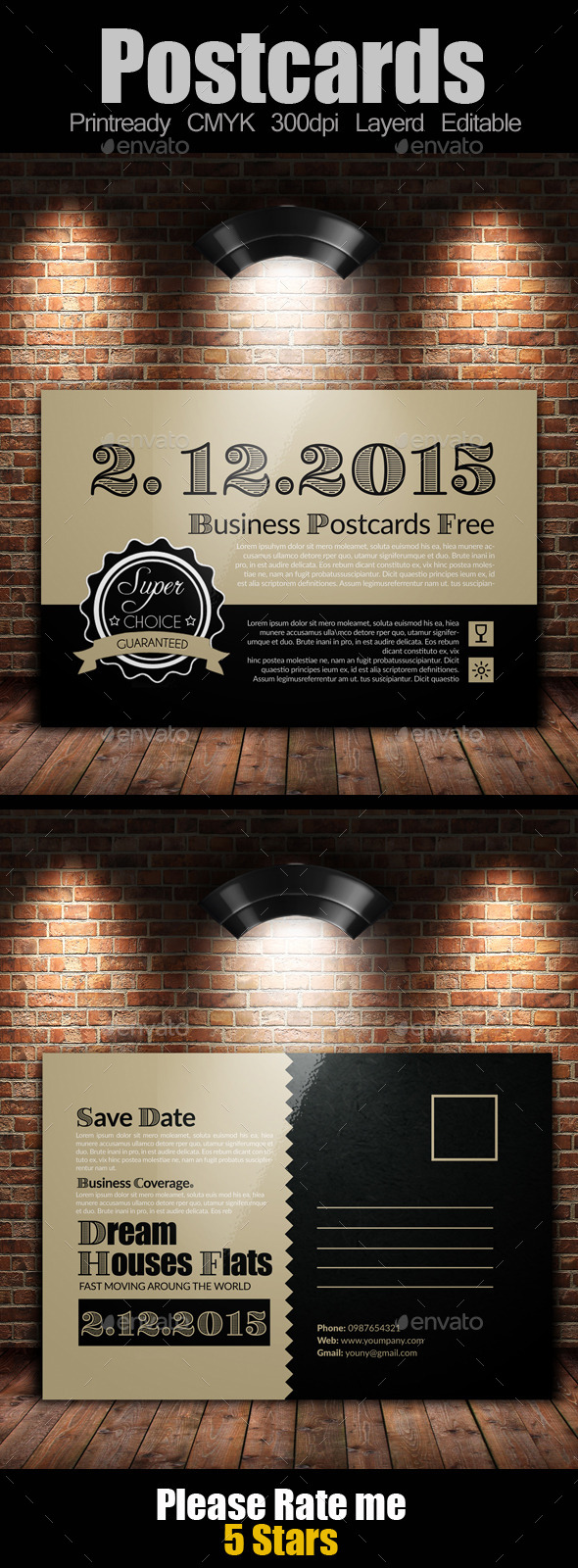 GraphicRiver Multi Use Business Post Cards 10088026