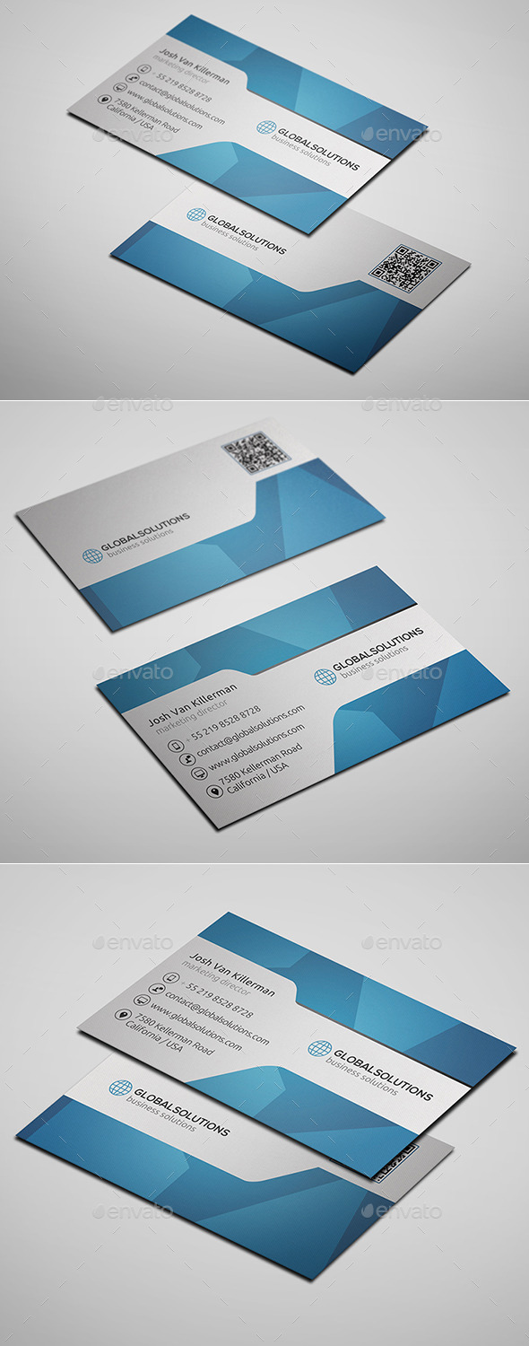 GraphicRiver Corporate Business Card 3 10088032