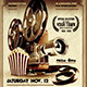 Night at the Movies Flyer + Ticket + FB Timeline - GraphicRiver Item for Sale