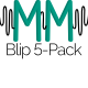 Blip 5-Pack - AudioJungle Item for Sale