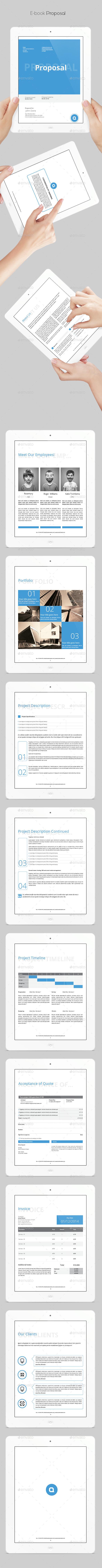 GraphicRiver E-book Proposal 10088383