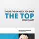The Top Flyer - GraphicRiver Item for Sale