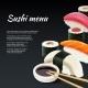 Sushi on Black Background - GraphicRiver Item for Sale