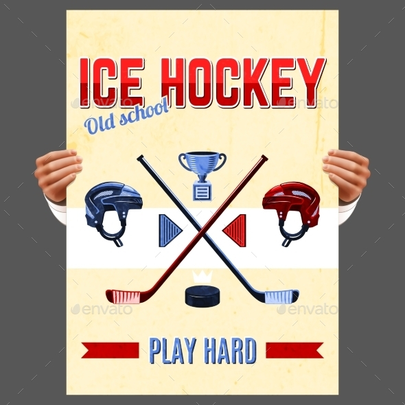 GraphicRiver Ice Hockey Poster 10088484